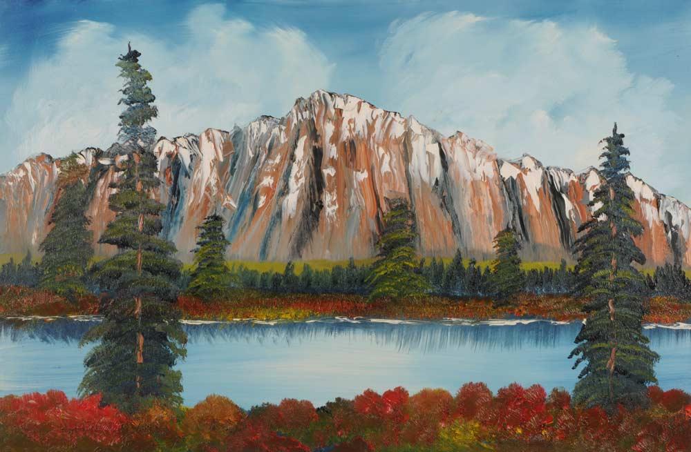 Mountain View 24 x 36