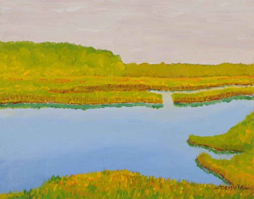 Still Waterway 16 x 20