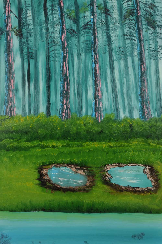 Two Ponds 24 x 36
