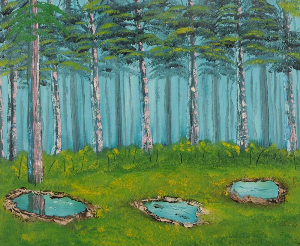 Forest Glen 20 x 24