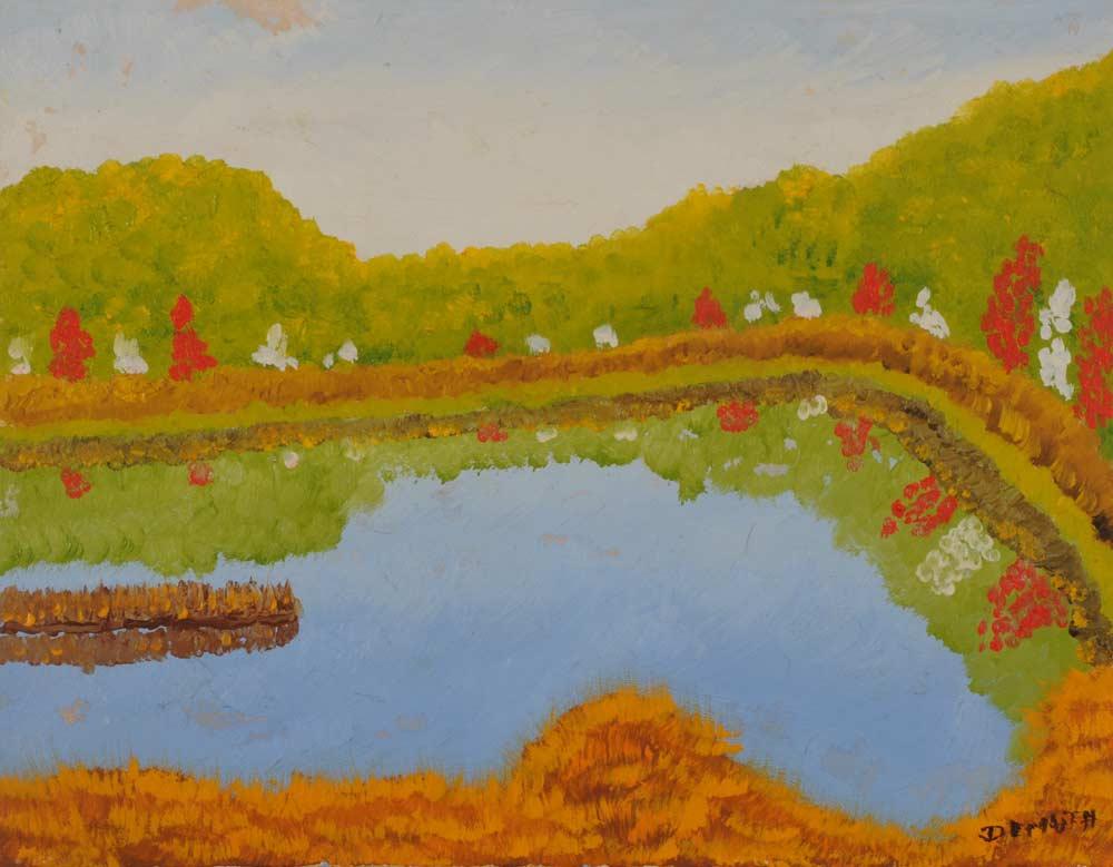 Quiet Pond 16 x 20