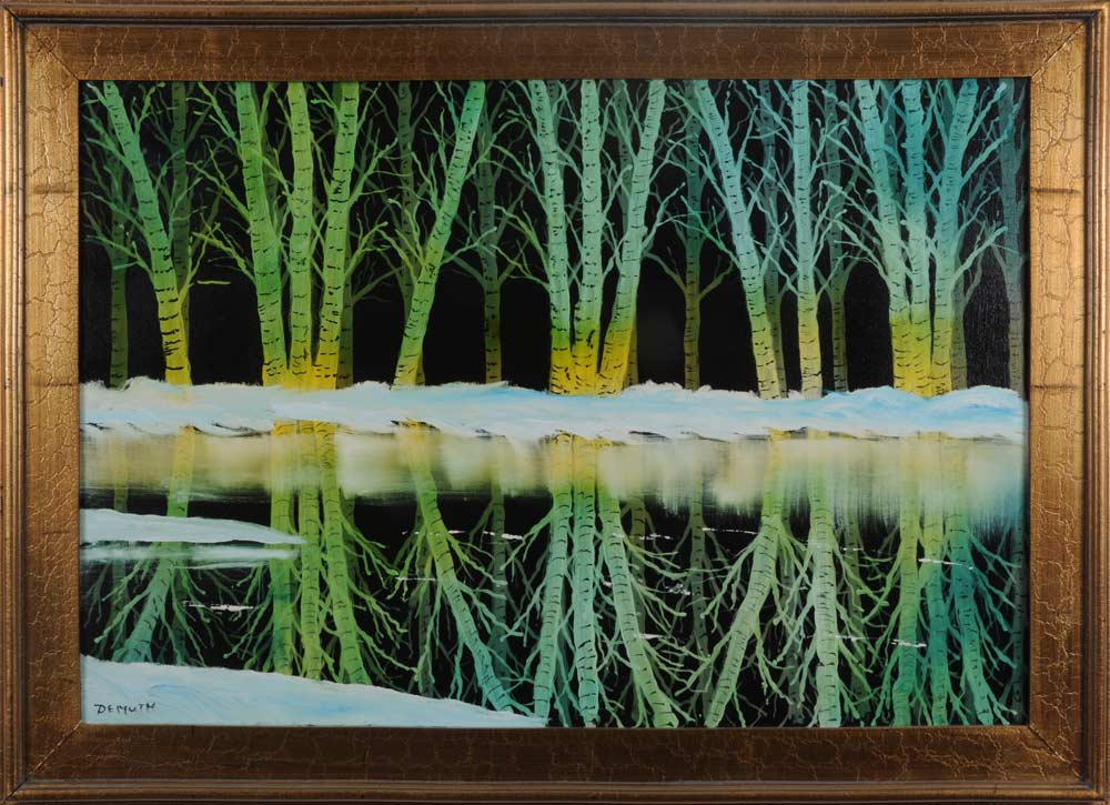 Winter Reflections 24 x 36