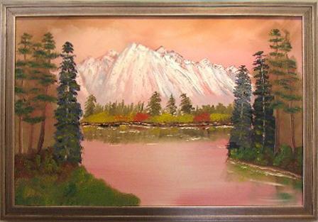 Majestic Mountain 24 x 36