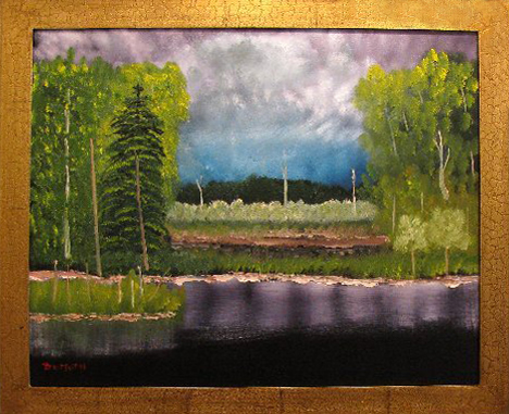 Quiet Before the Storm 20 x 30